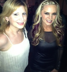 WIth Tamra Barney at NOMA  Social in New Rochelle, NY.