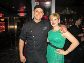 With Celebrity Chef Chris Nirschel