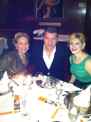 Dining with Kim G and Tom Murro