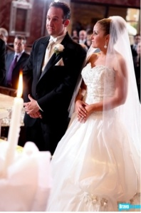 Kathryn and John from Long Island, NY tie the knot. Photo Credit: Bravotv.com