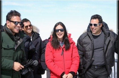 J.Crew catalog? No, it's the Bachelorette in the German Alps! Photo credit: abc.com