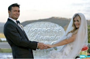 Wedding bells ring for Romain and Joanna on the new season  of RHOM. Photo credit: Bravotv.com