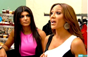 The confrontation. Who should Melissa believe? Credit: Bravotv.com