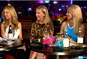 Yee Haw! Lisa, Lea, and friend at a Texas bar! Credit: Bravotv.com
