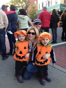 Family time like we had at this recent Halloween parade is what I most look forward to these days.