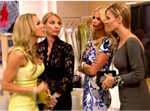 Face off: Lisa and Joanna. Credit: bravotv.com