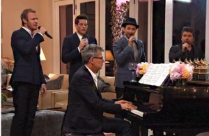 It wouldn't be a Yolanda party if David didn't get to showcase his talents. Photo Credit: Bravotv.com