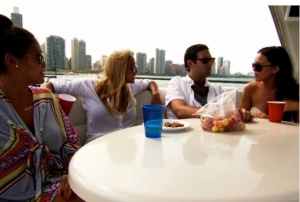 Chicago singles take on the heat, and eachother, in 100 Days of Summer. Photo Credit: bravotv.com