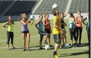 Juan Pablo takes the women on what else...a soccer date. Credit: abc.go.com