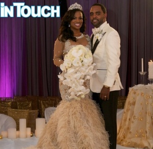Kandi ties the knot! Credit: In Touch Weekly