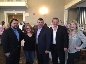 The latest Sparkle event was sponsored by Jeff Bailey, Todd Bailey, and Anthony Laurita of United Real Estate NJ. Photographed with Caroline and TBB.
