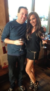 Mikey Flatley with good friend Nicole Napolitano of RHONJ (Source: Nicole Napolitano personal photo)