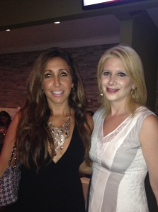 TBB and Vikki Ziegler at the RHONJ season 6 premier party.