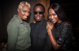 Nene Leakes,  Diddy, Naomi Campbell source:rollingout.com