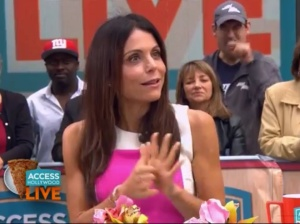 Bethenny Frankel revealed something interesting on Access Hollywood this week? See the clip below. Source: Access Hollywood