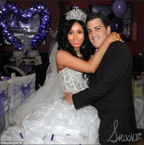 Snookie ties the knot... Source: Twitter
