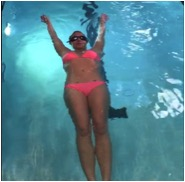 britney swimming