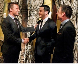 Jimmy Kimmel guest stars on The Bachelor. Credit Rick Rowell/ABC