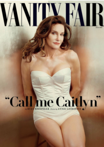 Bruce Jenner no more. The former Olympian reveals his softer side as Caitlyn on July's Vanity Fair.