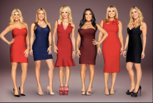 From Left: Liza Sandler, Amy Miller, Gail Greenberg,Susan Doneson,Cori Goldfarb, and Andi Black of Secrets and Wives Photo: Bravotv.com