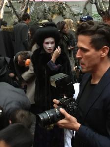 Co-host Gucci Westman dressed as a Geisha.